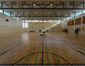 Turnhalle der St. Marien-Schule