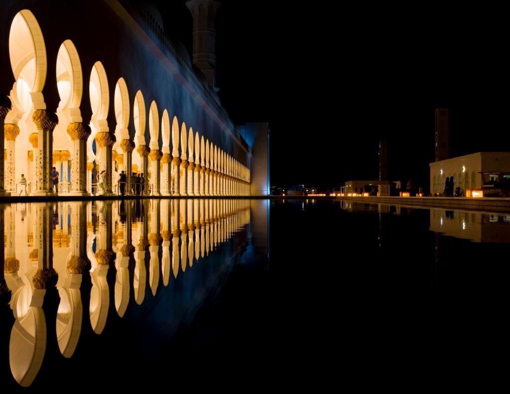 Grosse Moschee Abu Dhabi
